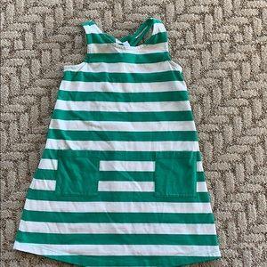Hanna Andersson racerback stripe dress